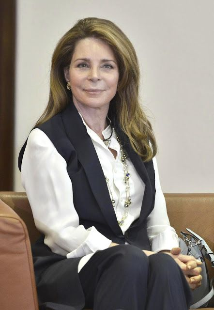 H.M. Queen Noor of Jordan, née Lisa Halaby