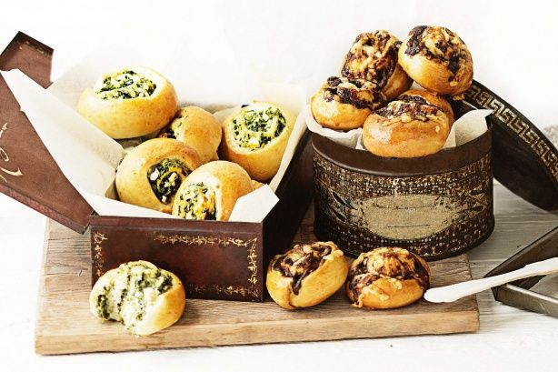 Use our basic dough to whip up a batch or two of these handy lunchbox snacks, then stock up your freezer for last-minute ease.