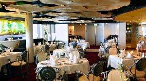 Pinnacle Grill restaurant on Holland America's Westerdam