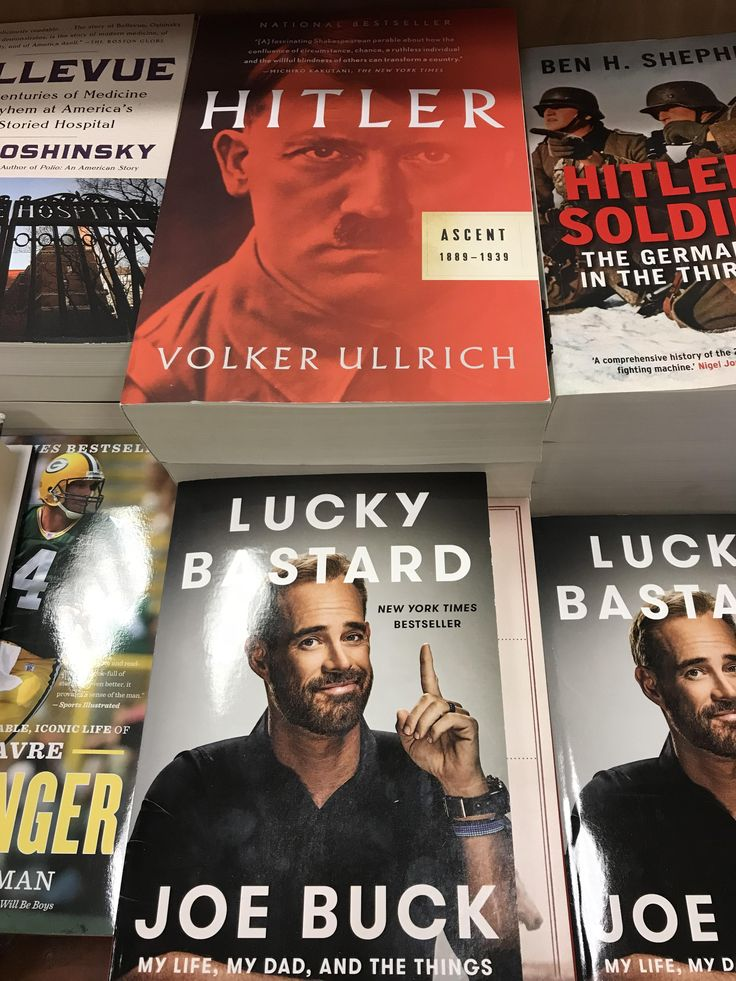 Bad book placement for Joe Buck
