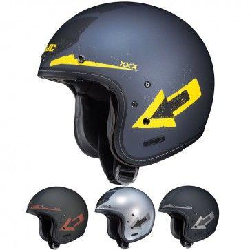 HJC IS-5 Arrow Three Quarter Mens Street Cruising DOT Motorcycle Helmets