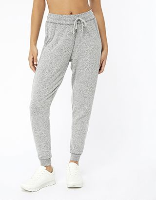 In irresistibly soft grey marl, our jogger trousers from the Spirit of Accessorize collection will see you from stretching sessions to lazy days in style. Fe...