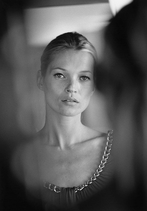 Kate Moss by Tom Craig.