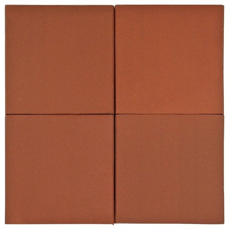 Spanish Red Quarry Tile - 6 x 6 - 915307593 | Floor and Decor