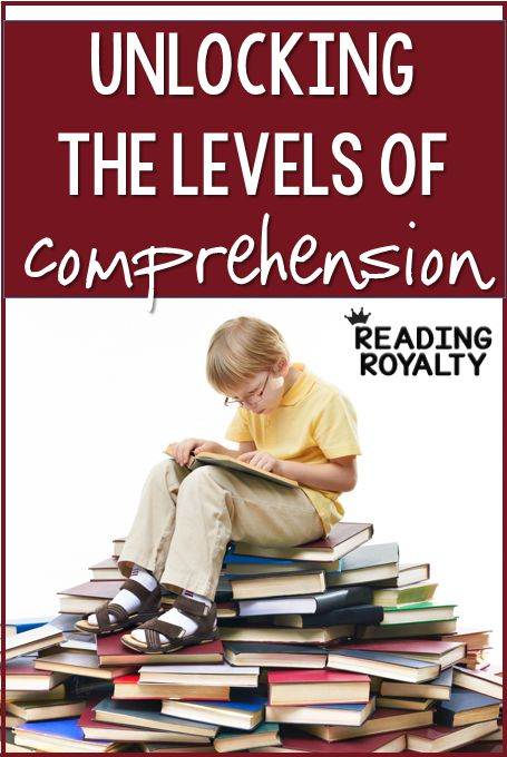 Use questioning to help break down comprehension into more manageable chunks: literal, inferential, and critical. - Reading Royalty