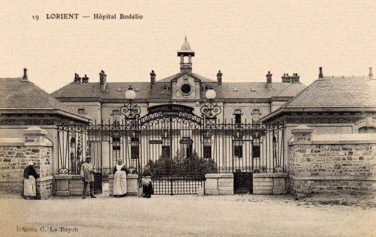 Hôpital Bodélio - Si Lorient m'était conté