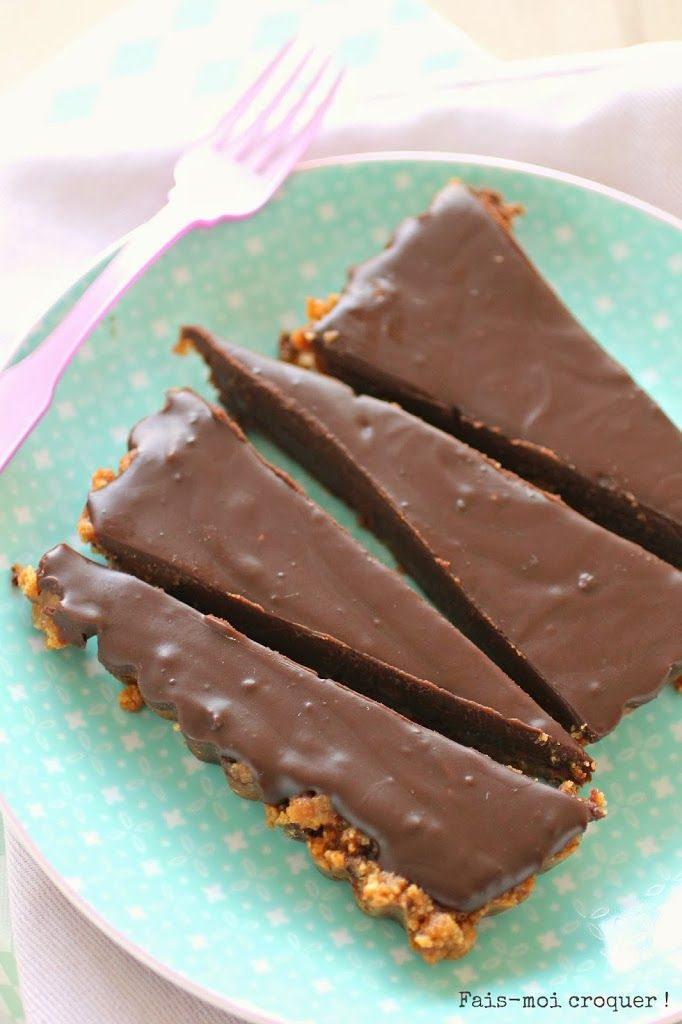 La tarte au chocolat & cookies de Julie Andrieu {enfin celle de son cousin, mais on va pas chipoter on va plutôt la dévorer} - Fais moi croquer !