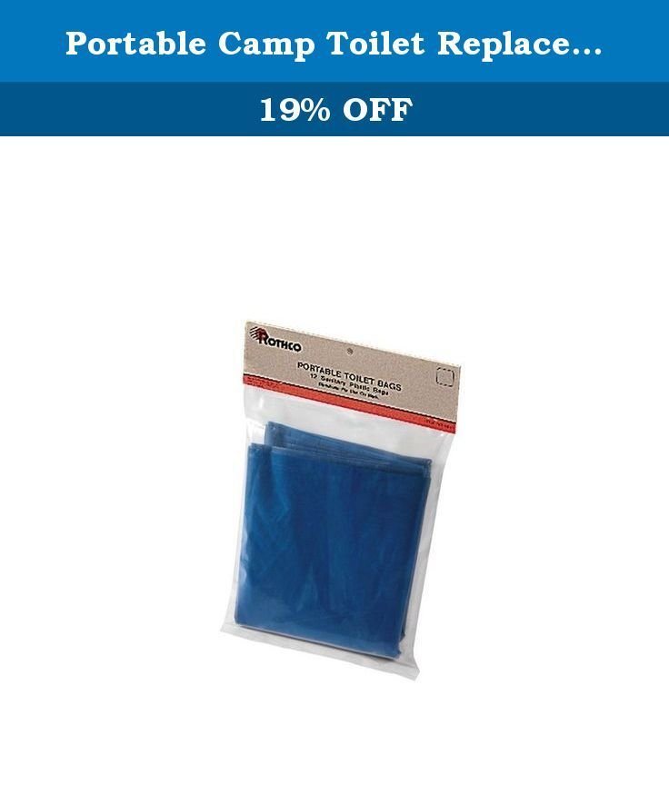 Portable Camp Toilet Replacement Bags. This item comes with well known brand name of Rothco. Rothco is the World's Foremost Supplier of Military and Outdoor Clothing and Accessories.