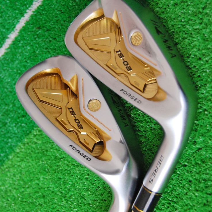 New Men.Golf Clubs Honma Beres IS-02 irons Set 4-1011As Sw Graphite shaft Clubs Headcovers Free Shipping | #GolfClubs #GolfIrons
