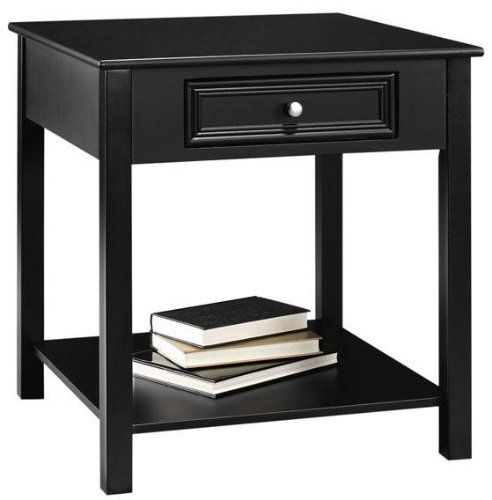 Oxford Square Anywhere Table, 1 DRAWER, BLACK By Home Decorators  Collection. $129.00