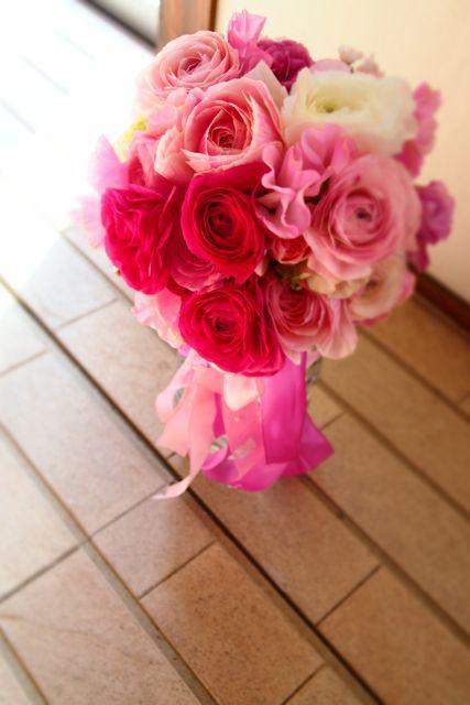 バレンタインウエディング : 花*ふわわ