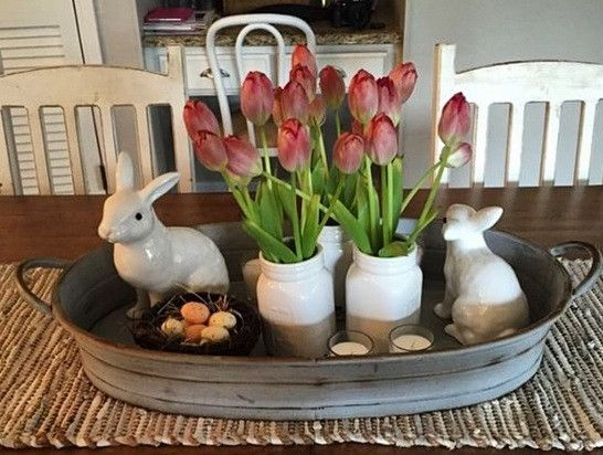 "Oval Galvanized Farmhouse Serving Tray -  A cherished reminder of days gone by, our galvanized farmhouse serving tray is perfect for your morning coffee or tea, or you can use it to gather vegetables from the garden.  The possibilities are endless.Farmhouse Serving Tray measures 21"" x 14"" x 2.5"""