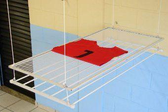 Tela para roupas delicadas para varal de teto