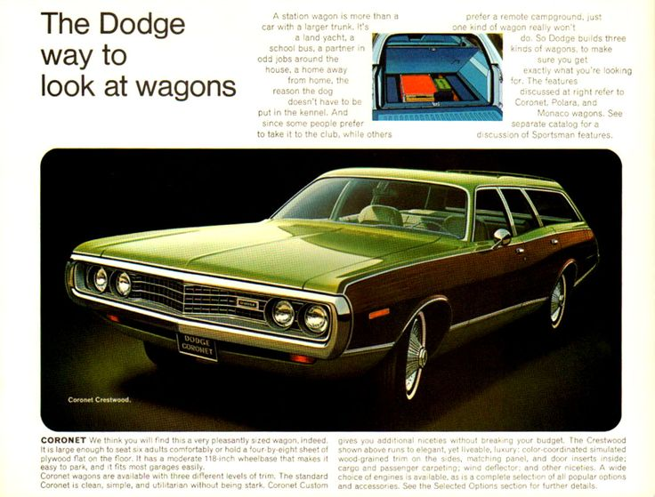 1972 Dodge wagons