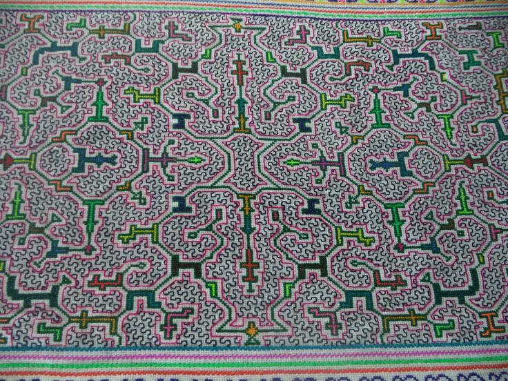 Shipibo Ceremonial cloth,Shipibo Tapestry,Ayahuasca Ceremony, Shamanic Cloth,Heart of Ayahuasca (I3), Shipibo Table cloth by Shakruna on Etsy