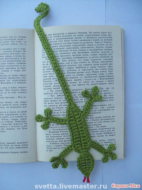 Crochet s Online bookmark so cute