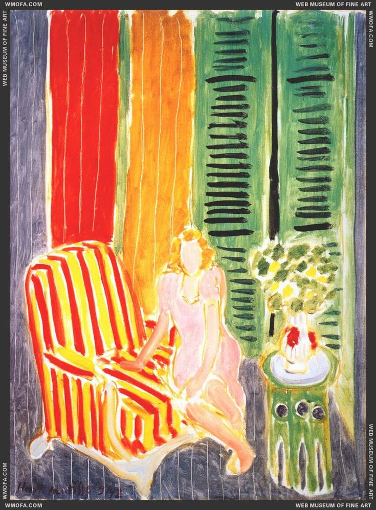 Girl in Pink in an Interior, 1942 by Henri Matisse