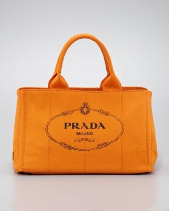 580 Prada Canvas Small Gardener S Tote Bag Vegan Designer