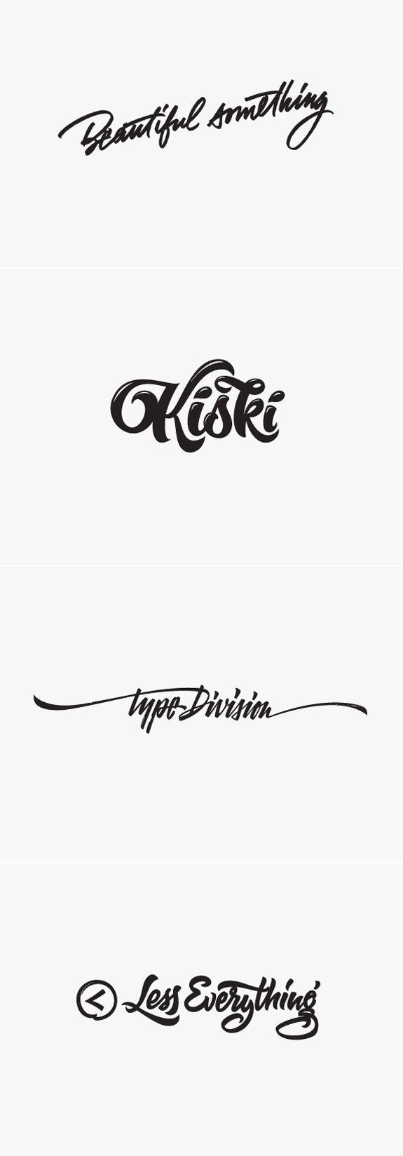 #typographie #inpirations