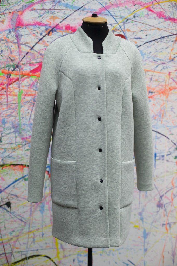 Пальто СLAIR светло-серый