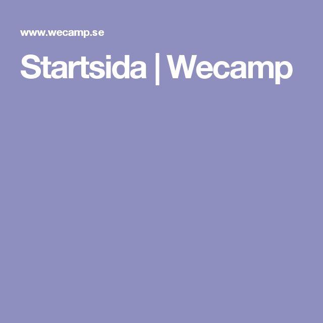 Startsida   Wecamp