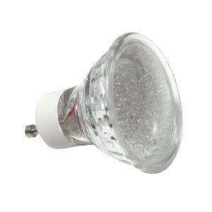 Ampoule led gu10 à 20 leds Blanc Chaud