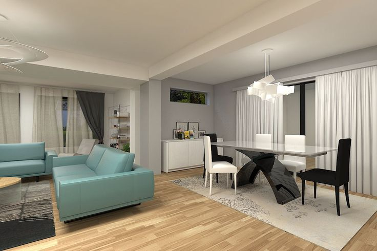 """Check out my @Behance project: """"Living room in Craiova, Romania"""" https://www.behance.net/gallery/41288517/Living-room-in-Craiova-Romania"""