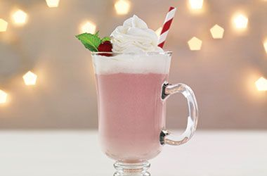 Cranberry White Hot Chocolate - Try this tasty recipe from Ocean Spray.