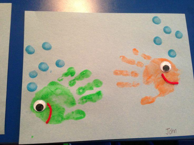 Pre school summer crafts!