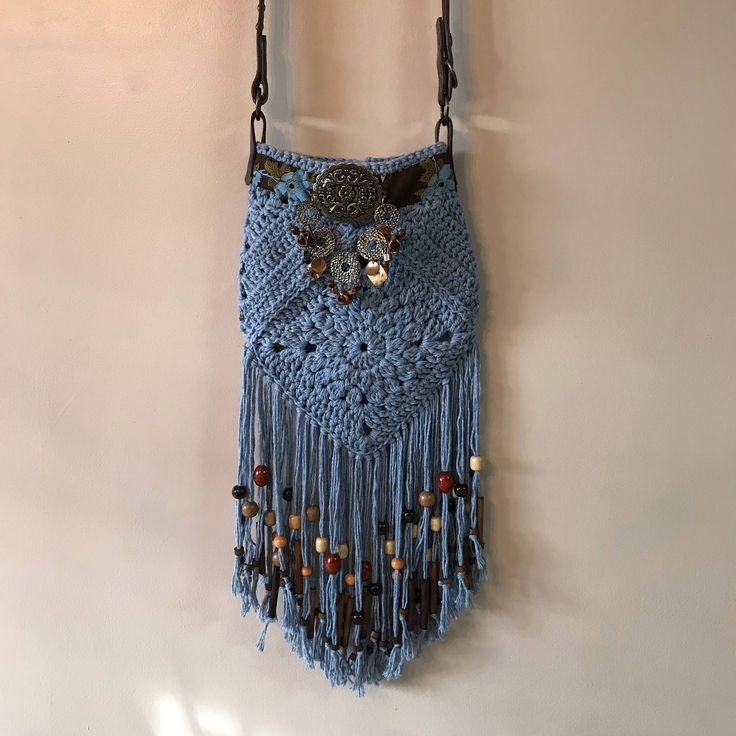 A personal favorite from my Etsy shop https://www.etsy.com/listing/581985388/fringed-bohemian-hippie-denim-colored