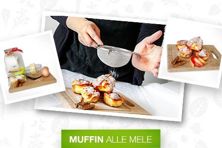 Questi gustosi #muffin alle #mele sono ideali per prendersi una pausa pomeridiana. Ecco come prepararli.  Scopri le #Ricette di Silvia: http://www.dimmidisi.it/it/dimmicomefai/le_ricette_di_silvia/article/muffin_alle_mele.htm - #dimmidisi #cucina #recipe #cooking #cuisine #fruit #dessert