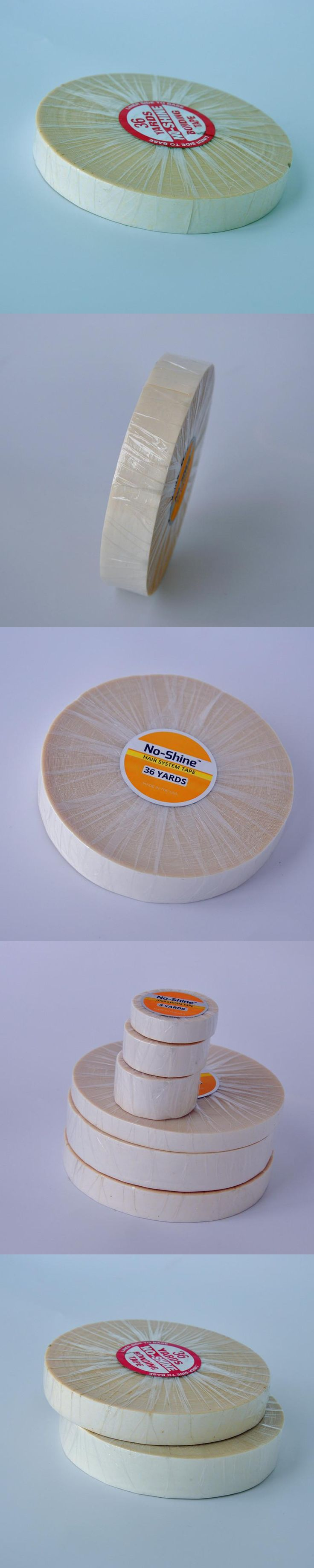 36yard Super No-Shine Double Tape Adhesives Tape For Toupees /Lace Wig/Hair Extension Professional Hair Accessory