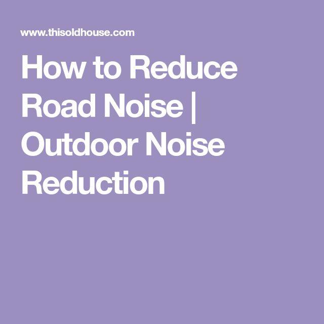best 25 noise reduction ideas on pinterest arborvitae tree acoustic barrier and gabion fence. Black Bedroom Furniture Sets. Home Design Ideas