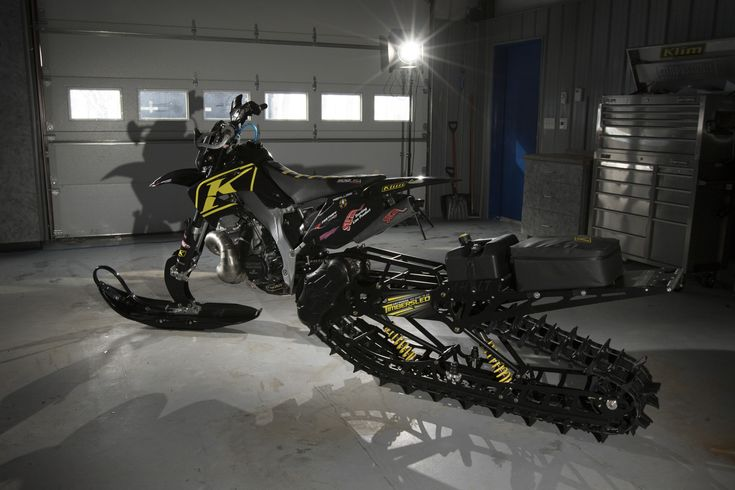 Honda CR 500 moto de nieve | EnduroPro