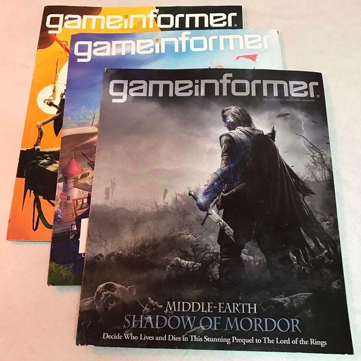 Game Informer Magazines Issues Lot Gamer Cheat Sheets Paperback Games Gamer  | eBay