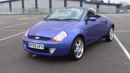 Used 2005 (05 reg) Blue Ford Streetka 1.6i Luxury 2dr for sale on RAC Cars