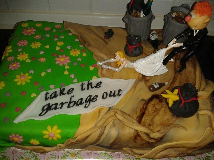 Happy divorce cake