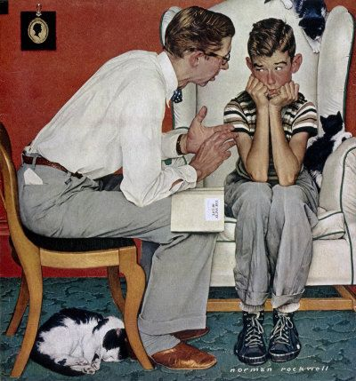 Original Norman Rockwell Paintings | Norman Rockwell's Facts of Life