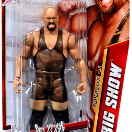 Wal-Mart.com USA LLC  WWE Wrestling Basic Series 33 Big Show Action Figure #55
