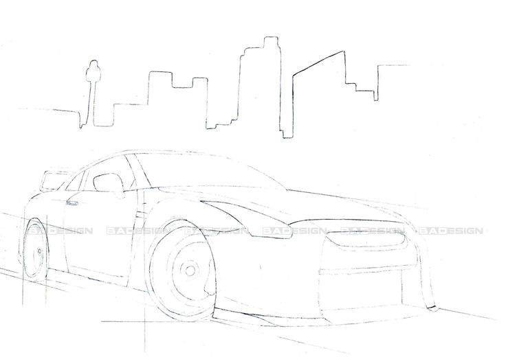 Nissan GTR #BADesign