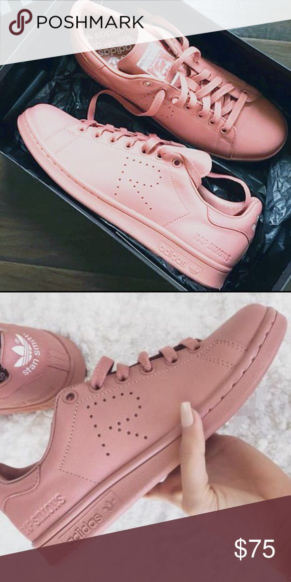 UA adidas Stan Smith by Raf Simons 504 ONLINE STORE 🌎 www.504onlinestore.com  •All of our shoes run true on the size •UA Quality •Facebook page: 504 Online Store • Free Shipping in US (12-15 days)  💸 Get $10 when you subscribe to the website's newsletter and purchase with promo code: 504Discount$10 adidas Shoes Athletic Shoes