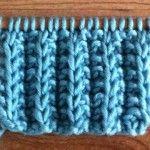 Como tricotar o ponto de costela de cinto de cartucho