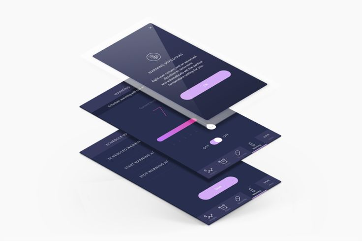 Interface Design for Eight App
