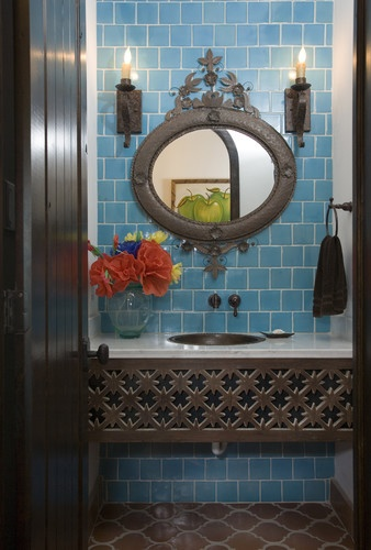 Mediterranean Bathroom Design, Pictures, Remodel, Decor and Ideas -