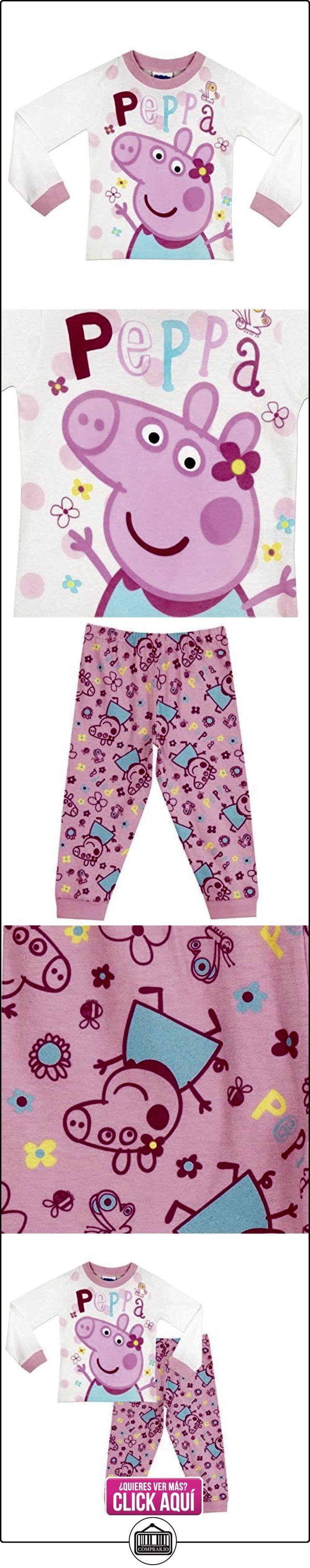 Peppa Pig - Pijama para niñas - Peppa Pig - 6 - 7 Años  ✿ Peppa Pig - Peppa La Cerdita ✿ ▬► Ver oferta: https://comprar.io/goto/B01M1BN7SB