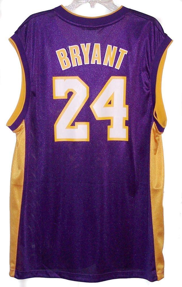 5a2f73d5e79 Adidas Kobe Bryant Los Angeles Lakers NBA Basketball Jersey Men  XL  adidas