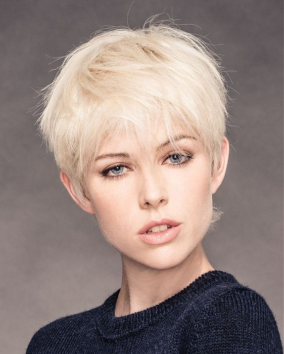 Sweet Demure No Part Cut Great For Those Of Us With Fine Hair Yet With The Right Styling