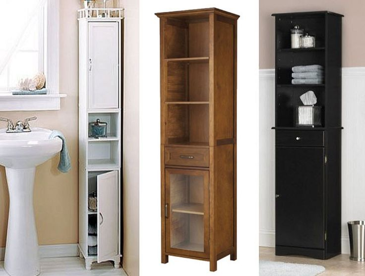 Amazing Narrow Bathroom Cabinets 1 Tall Narrow Bathroom Storage Cabinets Bathroom Reno