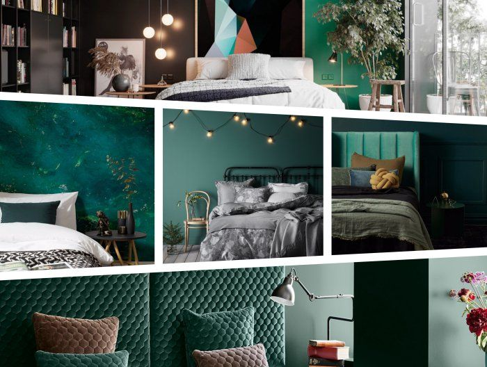Incroyable ▷ 1001 + Tendances Clés Pour La Peinture Chambre Adulte Moderne En 2019 |  Mag | Peinture Chambre Adulte, Vert Chambre, Couleur Chambre Adulte