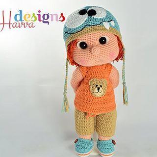 #pattern #amigurumi #toy #handmade #havvadesigns #cute #crochetpattern #crochet…